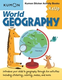 World Geography K & Up: Sticker Activity