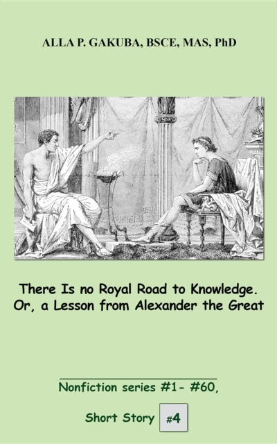 Bilde av There Is No Royal Road To Knowledge. Or,