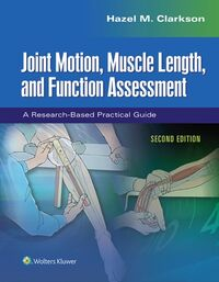 Joint Motion, Muscle Length, and Functio