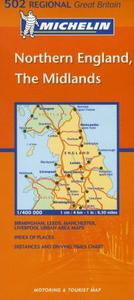 Northern England, the Midlands: motoring & tourist map = carte routière