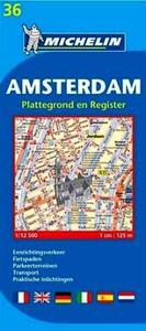 Amsterdam: plattegrond en register