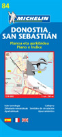 San Sebastian - Michelin City Plan 84