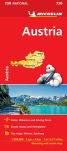 Austria - Michelin National Map 730