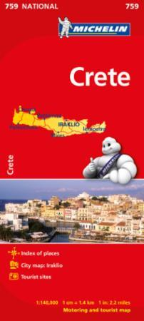 Crete - Michelin National Map 759