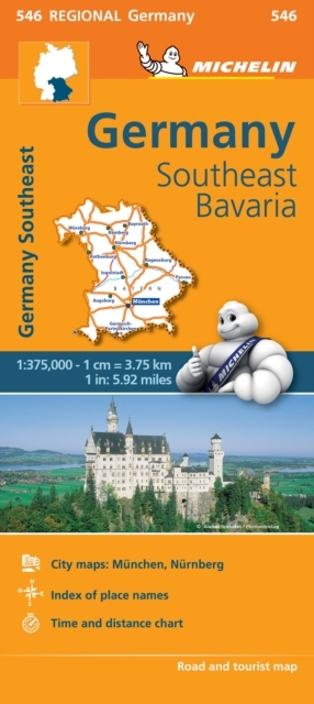 Germany Southeast, Bavaria - Michelin Re