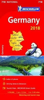 Germany 2018 National Map 718