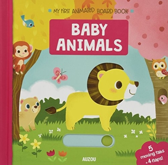 Baby Animals, My First Animated Board Bo