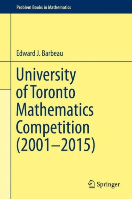 University of Toronto Mathematics Compet