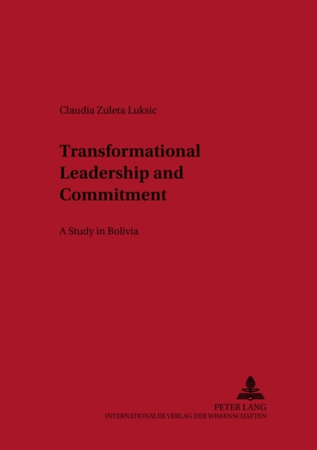 Transformational Leadership and Commitme