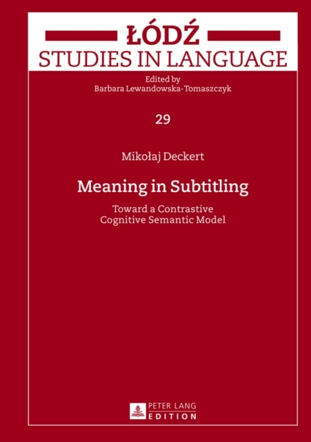 Meaning in Subtitling
