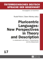 Pluricentric Languages: New Perspectives