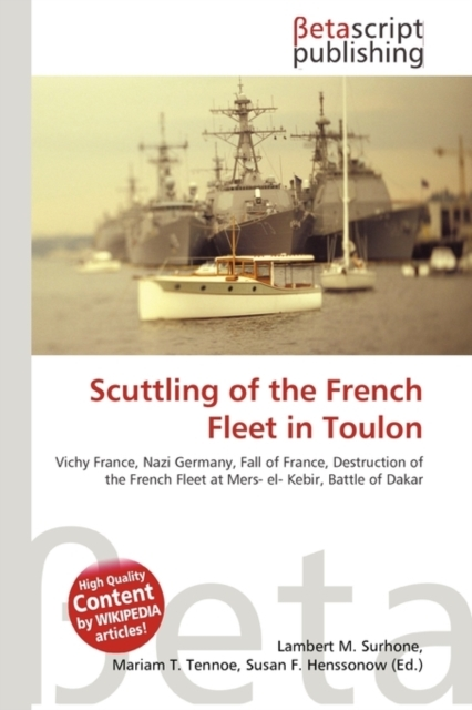 Scuttling of the French Fleet in Toulon