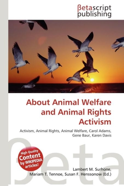 About Animal Welfare and Animal Rights A