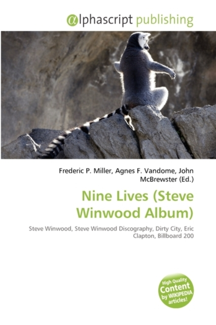Nine Lives (Steve Winwood Album)