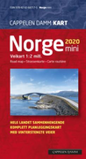 Norge mini 2020: veikart = road map = Strassenkarte = car