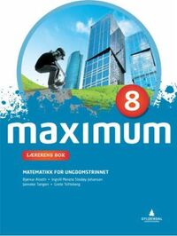 Maximum 8: lærerens bok