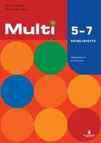 Multi 5-7: grublishefte