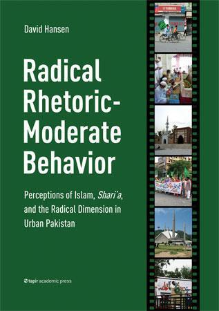 Radical rhetoric-moderate behavior