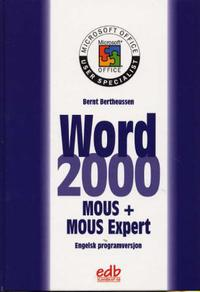 Word 2000 MOUS core and expert