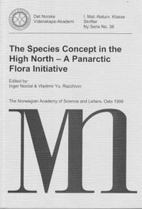 The species concept in the high north: a Panarctic flora initiative