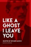 Like a ghost I leave you