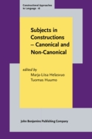 Subjects in Constructions - Canonical an