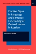 Emotive Signs in Language and Semantic F