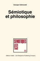 Semiotique et philosophie. (Semiotics an