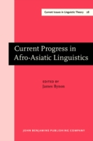 Current Progress in Afro-Asiatic Linguis
