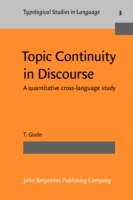 Topic Continuity in Discourse