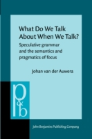 What Do We Talk About When We Talk?