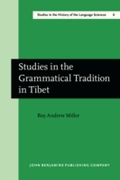 Studies in the Grammatical Tradition in