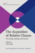Acquisition of Relative Clauses