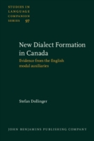 New-Dialect Formation in Canada