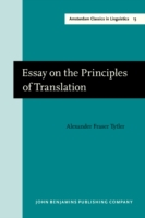 Bilde av Essay On The Principles Of Translation (