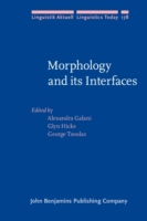 Morphology and its Interfaces
