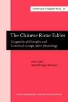 Chinese Rime Tables