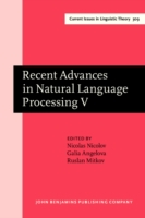 Recent Advances in Natural Language Proc