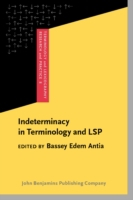 Indeterminacy in Terminology and LSP