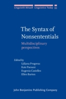 Syntax of Nonsententials