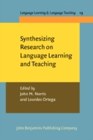 Synthesizing Research on Language Learni