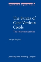 Syntax of Cape Verdean Creole