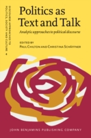 Politics as Text and Talk