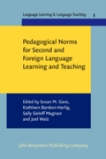 Pedagogical Norms for Second and Foreign