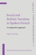 Social and Stylistic Variation in Spoken