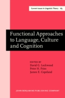 Functional Approaches to Language, Cultu
