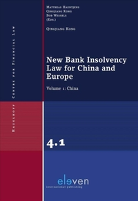 New Bank Insolvency Law for China and Eu